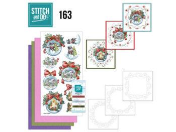 stitch & do 163 wintry christmas