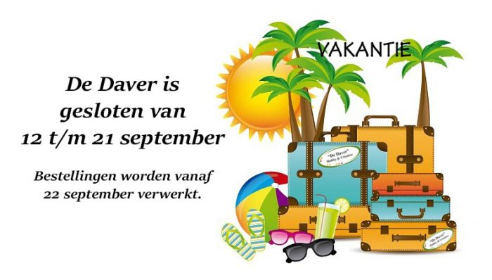 vakantie september 21